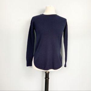 Boden Navy Blue Lightweight Crewneck Sweater XS